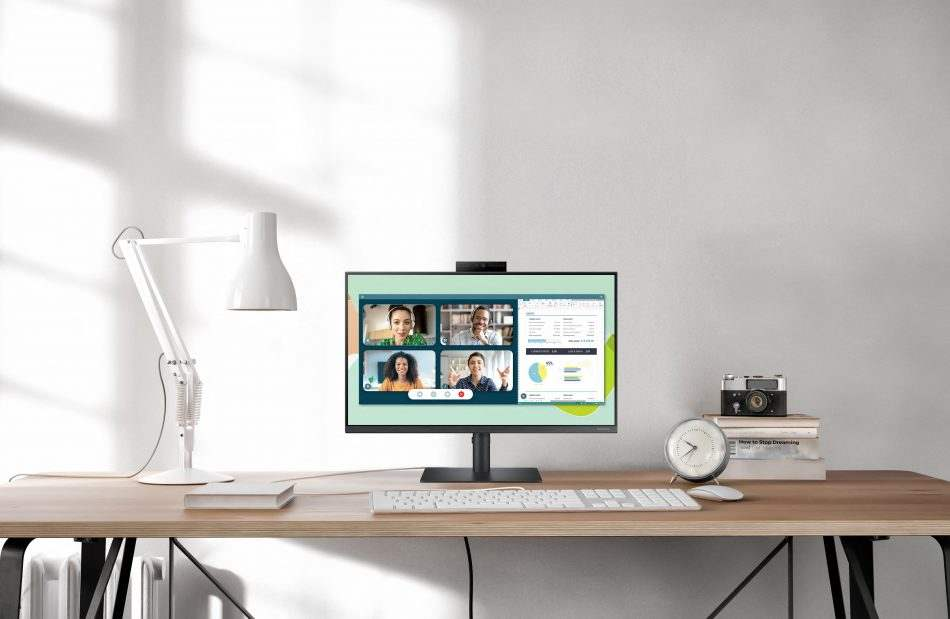 Samsung Launches New Monitor With A Pop Up Webcam For Remote Workers And Students 1